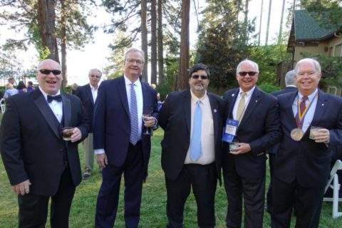 Five men outside at the 2018 NAIIA National Conference