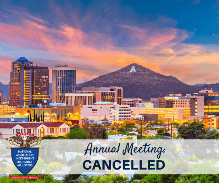 Notice that the annual conference has been cancelled